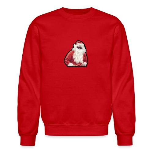 santa with sunnies - Crewneck Sweatshirt