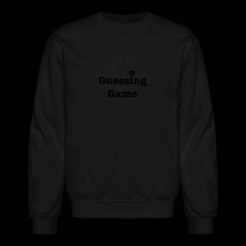 Question - Crewneck Sweatshirt