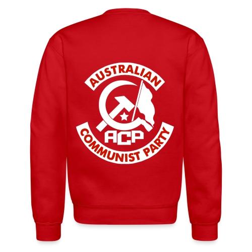ACP White Patch Design - Unisex Crewneck Sweatshirt