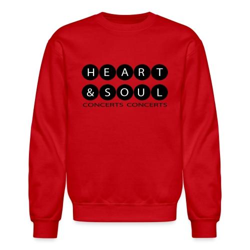 Heart & Soul Concerts Black Bubble Horizon - Unisex Crewneck Sweatshirt