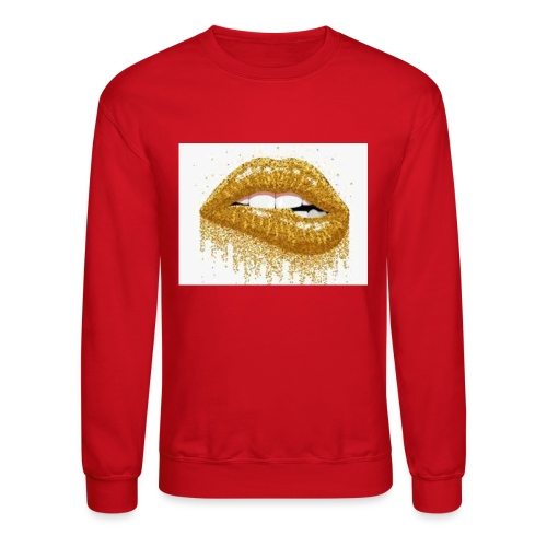 saucystar lips - Unisex Crewneck Sweatshirt