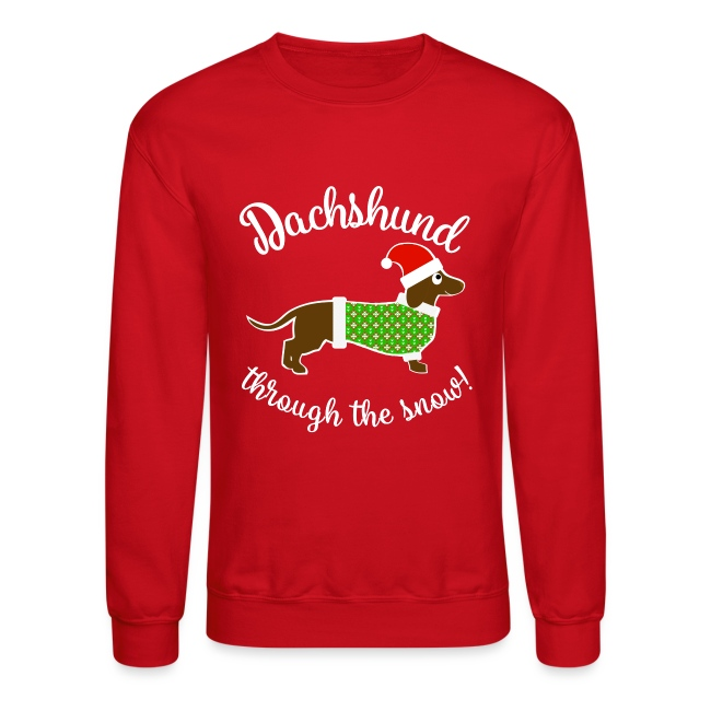 Christmas Design - Dachshund Through The Snow!