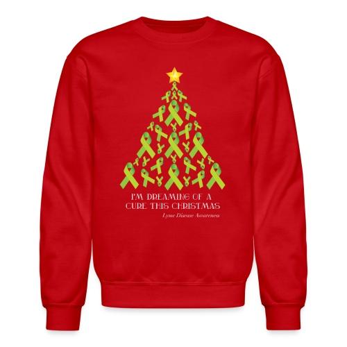 Lyme Free Christmas - Unisex Crewneck Sweatshirt