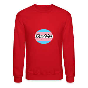 She/Her - Crewneck Sweatshirt
