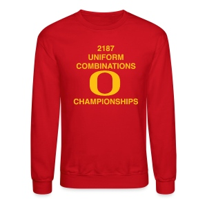2187 UNIFORM COMBINATIONS O CHAMPIONSHIPS - Crewneck Sweatshirt