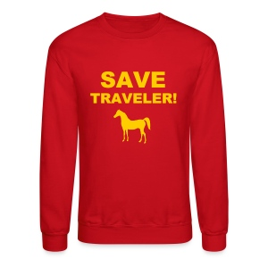 Save Traveler - Crewneck Sweatshirt