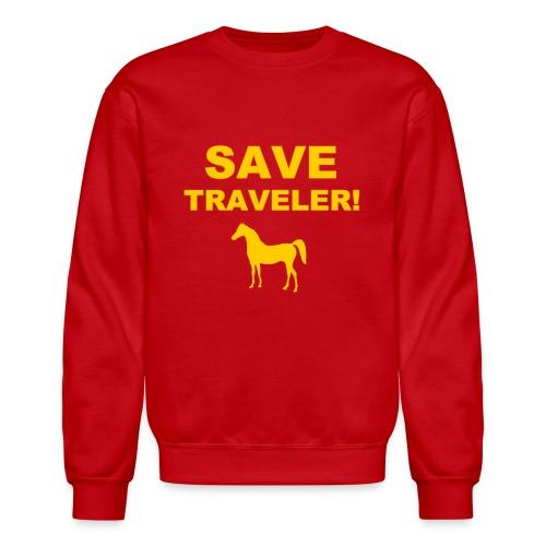 Save Traveler - Crewneck Sweatshirt