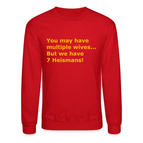 Multiple Wives - Crewneck Sweatshirt