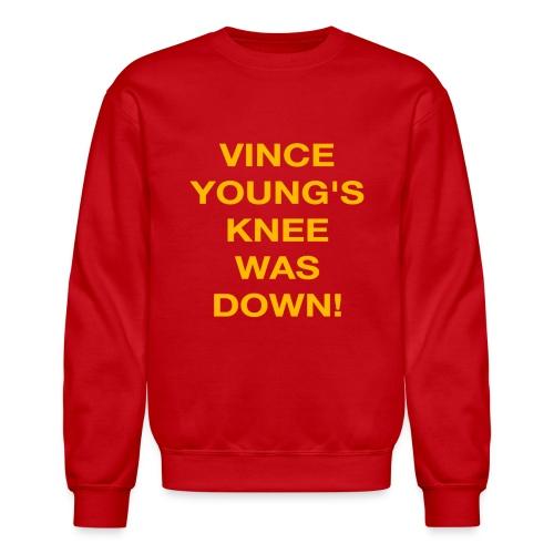 Vince Young's Knee Was Down - Crewneck Sweatshirt