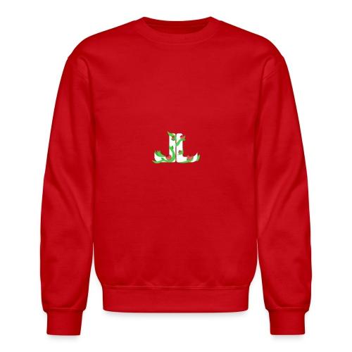 LegitLovely White Logo - Crewneck Sweatshirt