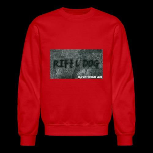 RIFFLE DOG MOUSE PADS - Crewneck Sweatshirt