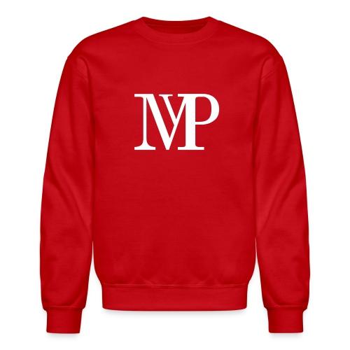 (White) Mvp Logo - Crewneck Sweatshirt