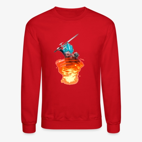 The Power of God and Anime - Crewneck Sweatshirt