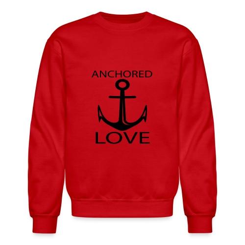 TSHIRTFINDERS -T-SHIRT ANCHOR LOVE - Crewneck Sweatshirt