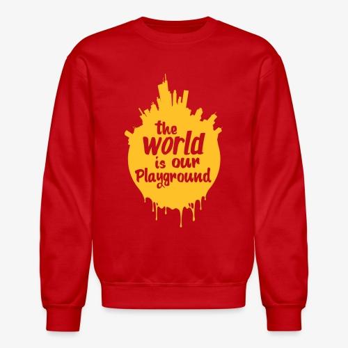 The World is our Playground Tee - Crewneck Sweatshirt