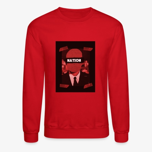 Mystery Man Red - Crewneck Sweatshirt