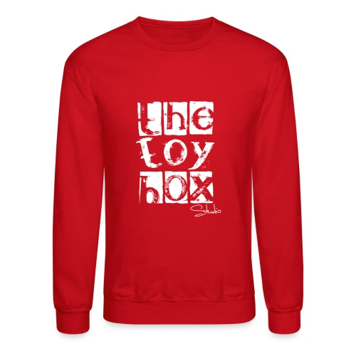 The Toy box Studio - White Logo - Crewneck Sweatshirt