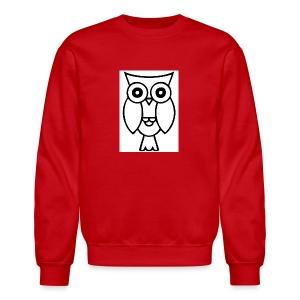 best smart owl - Crewneck Sweatshirt