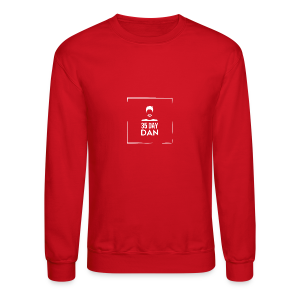 35DD Male White - Crewneck Sweatshirt