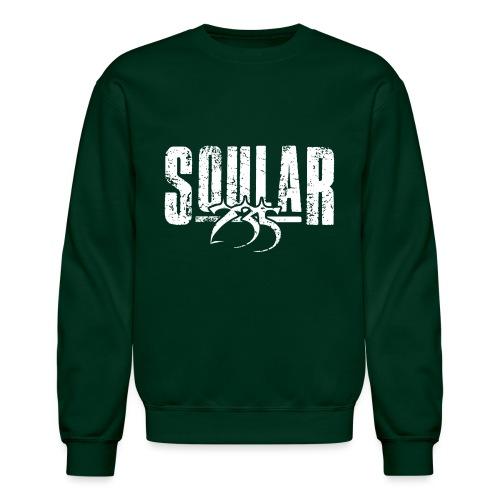 Soular235 White Logo - Unisex Crewneck Sweatshirt