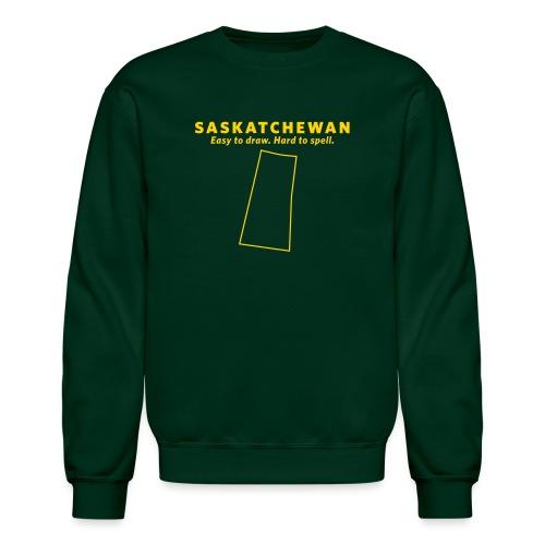 Saskatchewan - Unisex Crewneck Sweatshirt
