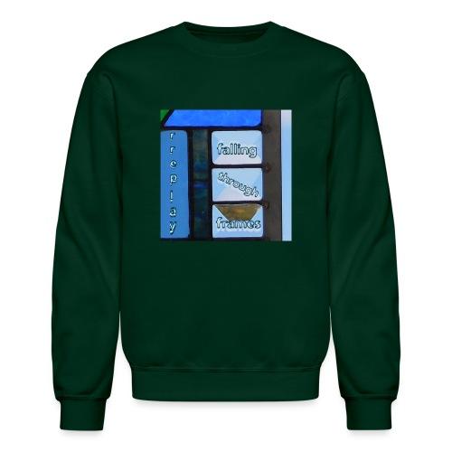 Falling Through Frames - rreplay - Unisex Crewneck Sweatshirt