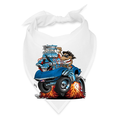Classic '69 American Sports Car Cartoon - Bandana