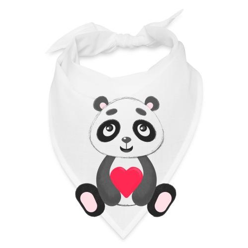 Sweetheart Panda - Bandana