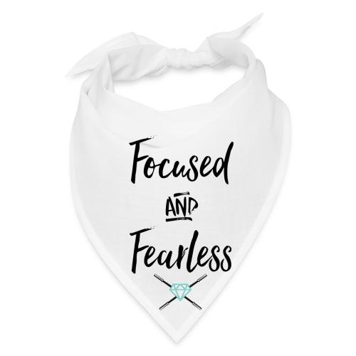 focused fearless (black) - Bandana