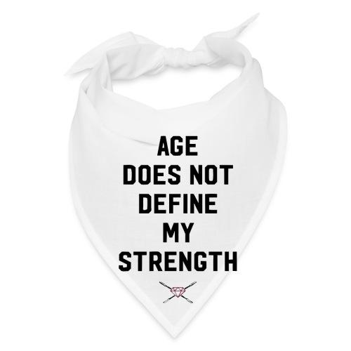 age strength black - Bandana