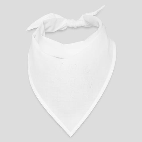 FUCKEMALL White Logo - Bandana