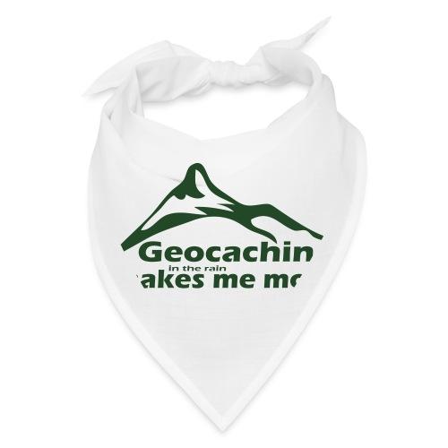 Geocaching in the Rain - Bandana