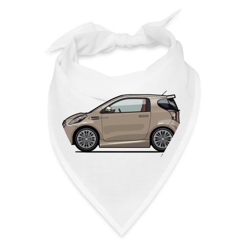 AM Cygnet Blonde Metallic Micro Car - Bandana