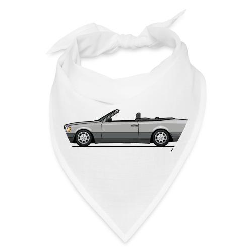 MB E-Class A124 W124 Cabrio Silver - Bandana