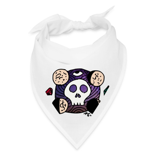 Moon Skull from Outer Space - Bandana