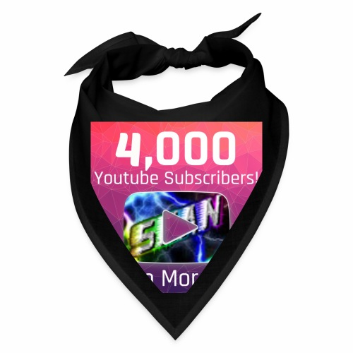 4000 Subs edited - Bandana