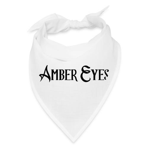 AMBER EYES LOGO IN BLACK - Bandana