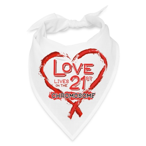 Down Syndrome Love (Red) - Bandana