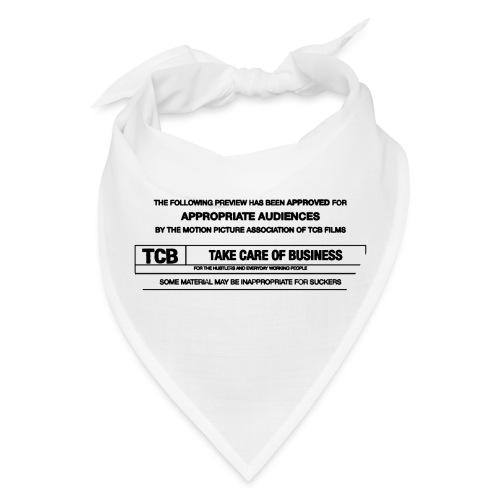 TCB Films Disclamer - Bandana