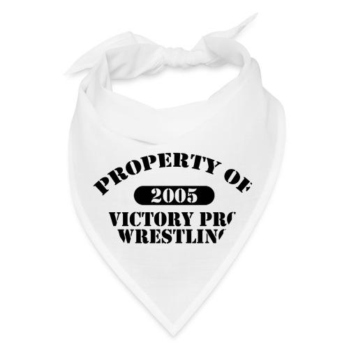 Property of Victory Pro Wrestling - Bandana