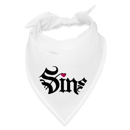 sins logo heart - Bandana