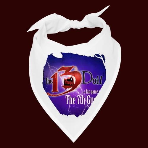 The 13th Doll Logo With Lightning - Bandana