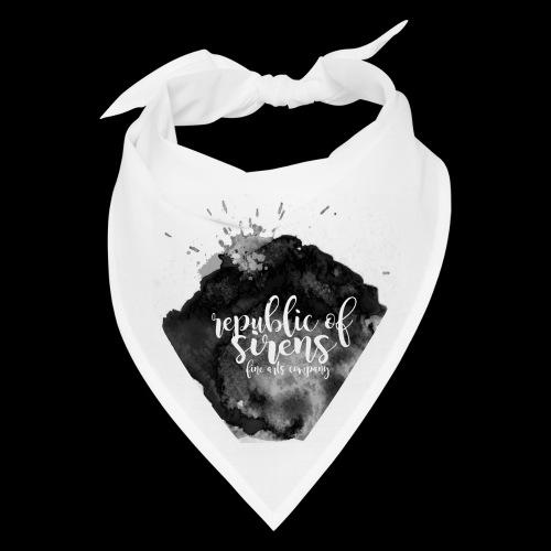 ROS FINE ARTS COMPANY - Black Aqua - Bandana