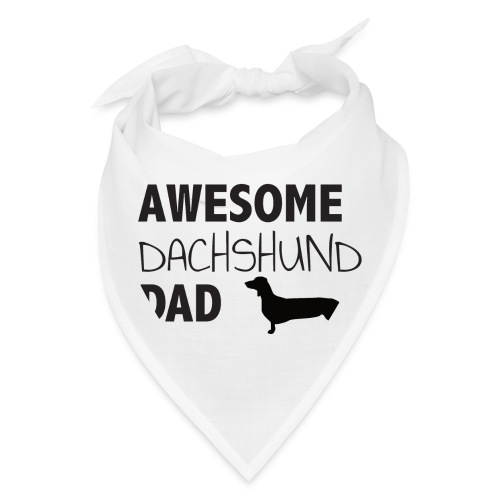 Awesome Dachshund Dad - Bandana