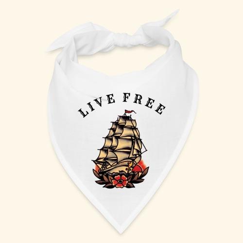 LIVE FREE - Bandana