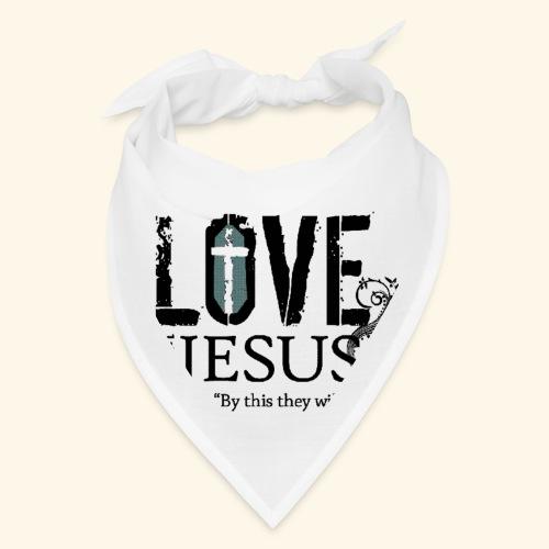 LOVE LIKE JESUS - Bandana