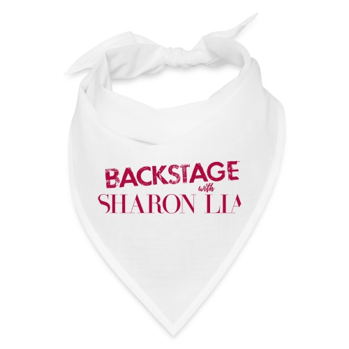 Backstage With Sharon Lia - Red - Bandana