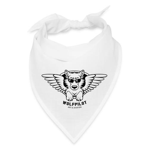 Wolfpilot Logo Black - Bandana