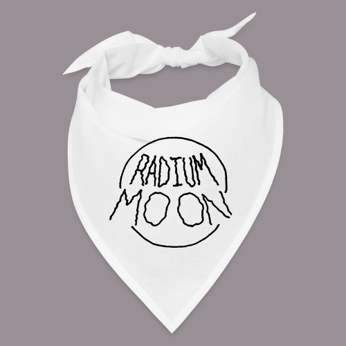 Radium Moon Black - Bandana