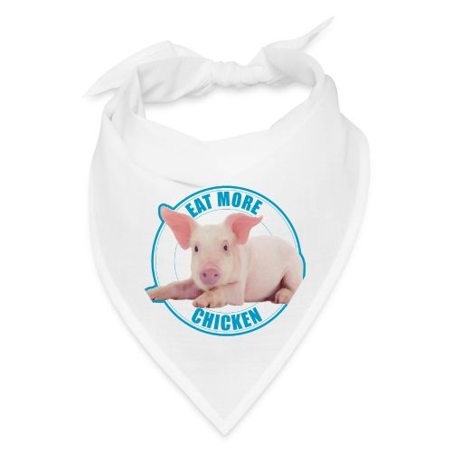 Eat more chicken - Sweet piglet print - Bandana
